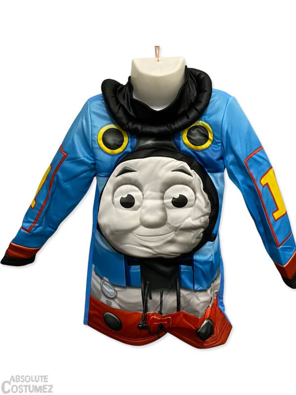 Ready to board the train with thomas with this amazing costume