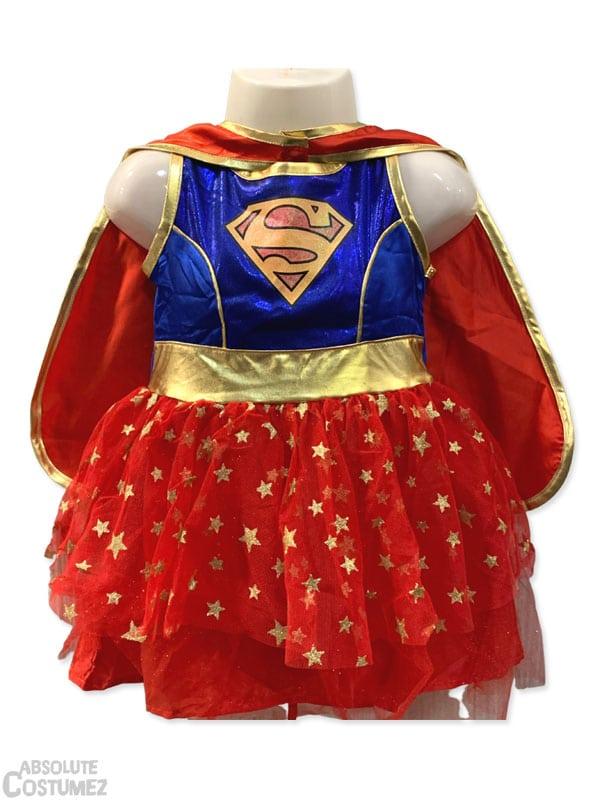 Supergirl costume transform your children in super hero.