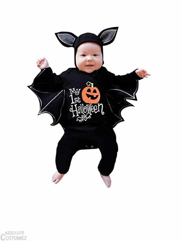 aby bat costume transform kids in cute halloween pumpkin character